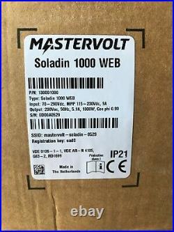 Mastervolt Soladin 1000 WEB Solar Inverter, 1kW 1000W solar inverter