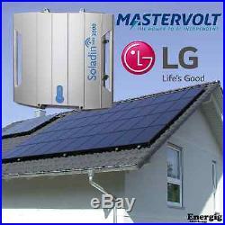 Mastervolt Soladin 3000 Web Solar grid tie inverter/wechselrichter, Wifi, IP65