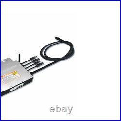 Microinvert Grid Tie Inverter 1200W DC18-50V to AC 110/220V Auto Waterproof IP65