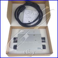 Mppt Pure Sine Wave 600W 110/220V Grid Tie Micro Inverter Home Solar Inverters