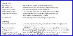 NEW KACO 1502xi 1.5 KW GRID TIE SOLAR INVERTER NON AFCI With KACO FACTORY WARRANTY