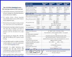 NEW KACO 2502xi 2.5 KW GRID TIE SOLAR INVERTER NON AFCI