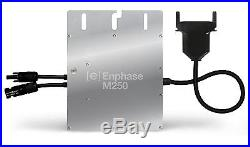 New 12 pcs Enphase Solar Micro Inverter M250-60/72-2LL-S22 MC4 208/240V Grid Tie