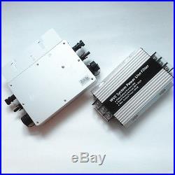New 600W 1200W 110/220V Grid tie Microinverter Mppt Solar Inverter With Filter