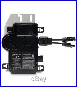 New Case (18) Enphase Iq7-60-2-us Micro Inverters. Free Shipping