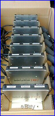 New In Box. Qnty 8 Enphase Energy Solar Micro-inverters M215-60-2ll-s22-ig-z