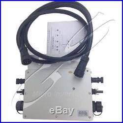 New Mppt Pure Sine Wave Inverters KAIDENG-600W 110V/220V Grid Tie Solar Inverter