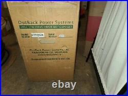 Outback Power GTFX2524 Grid Tie Battery Backup Inverter 2500 VA 24 Volt