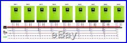 PR HI AK! Hybrid PIP LV2424 2400W 24V 120V/240V Inverter Split Phase capable