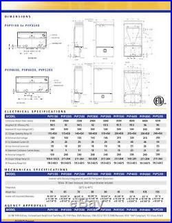 PVPowered PVP4600, 4600w gridtie solar inverter 208v