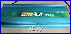 Power Jack 3500W Grid Tie Power Inverter PSWGT-3500 SEE DESCRIPTION