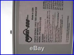 Power One Aurora ABB 5000W Solar Grid Tie Inverter PVI-5000-OUTD US Utility