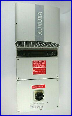 Power One Solar Grid Tied 3.6kW Solar Inverter (PVI-3.6-OUTD) withDC Safety Switch