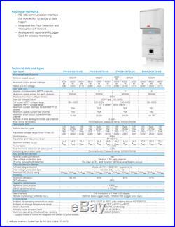 Replaces SMA 4.2kW 4200W Grid Tie Inverter WITH AFCI Sunny Boy, Aurora, Fronius