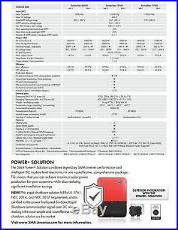 SMA SB3.8-1 SP-US-41 Sunny Boy Solar Inverter 3.8kW