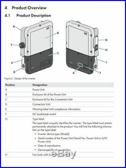 SMA SB5.0-1 SP-US-41 Sunny Boy Solar Inverter Standard 5kW 208/240 VAC