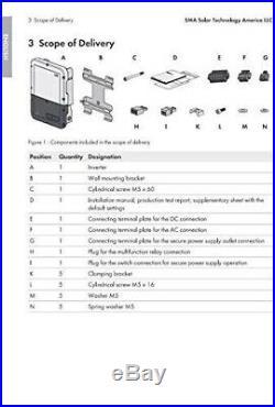 SMA SB6.0-1SP-US-40 6kW String Inverter