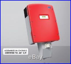 SMA Sunny Boy 5kW 5000W Grid Tie Solar Inverter withCombiner Box UL1741