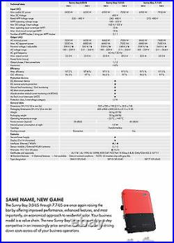 SMA Sunny Boy 7.7-US 7.7 kW grid tied solar inverter for solar panels home house
