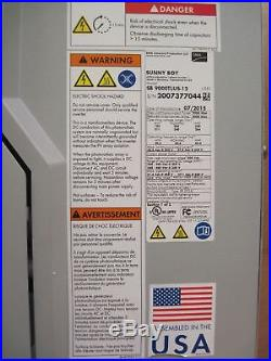 SMA Sunny Boy SB 9000TLUS-12 Transformerless Grid-Tie String Inverter 9kW