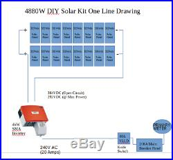 SMA Sunny Boy SB4000US 4000w 4kW Grid Tie Solar Panel Inverter With Disconnect