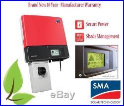 SMA Sunny Boy SB5000TL-US-22 Grid-Tie String Solar Inverter with Secure Power Plug