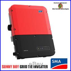 SMA Sunny Boy SB7.0-1SP-US-40 Grid Tie Inverter With Secure Power Supply