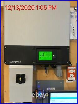 SMA Sunny Boy SB7000TL-US-22 Inverter, Disconnect, Secure Power Supply, Webconnect
