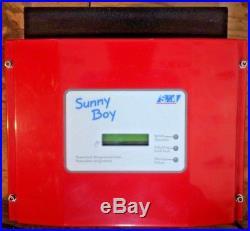 SMA Sunny Boy SB700U SB-700U 700W 120V Solar Grid-Tie Inverter Pos ground