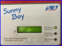 SMA Sunny Boy SWR-2500U Grid-Tie Inverter 240V