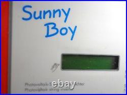 SMA Sunny Boy SWR-2500U Grid-Tie Inverter 240V CLEAN, WORKING