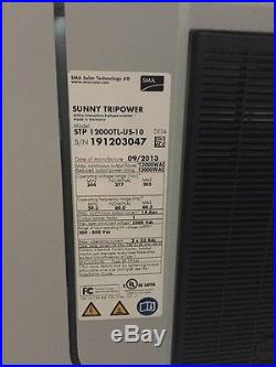 SMA Sunny Tripower 12000-TL-US Grid Tie inverter 12kw