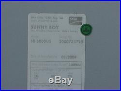 SUNNY BOY SMA inverter 3kw