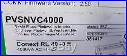 Schneider Conext RL 4000E Single Phase Photovoltaic Grid Tie Inverter