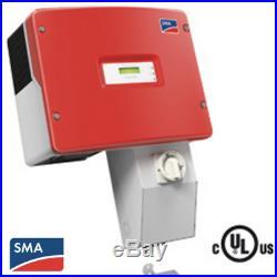 Sma Sunny Boy Sb 4000-us-10 Grid-tie Inverter 208/240v