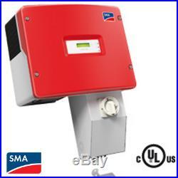 Sma Sunny Boy Sb 4000-us-10 Grid-tie Inverter Residential