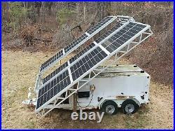 Solar Generator Trailer 5kW with 240V Grid-Tie Inverter