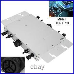 Solar Grid Tie Micro Inverter DC 22-50V to AC 110V Inverter Pure sine MPPT