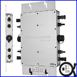 Solar Grid Tie Micro Inverter DC 22-50V to AC 110V wireless Pure sine Reverse