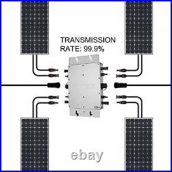 Solar Grid Tie Micro Inverter DC 22-50V to AC 220V Parallel Inverter Simplify