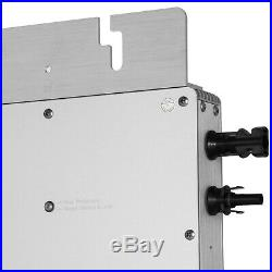 Solar Grid Tie Micro Inverter DC 22-50V to AC 220V Simplify Reverse 1200w HOT