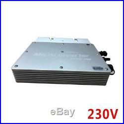 Solar Grid Tie Micro inverter 1200W MPPT pure sine wave 22-50V DC WVC Modem
