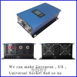 Solar Grid Tie inverter 1000W with Limiter MPPT Pure Sine Wave DC22-60V/45-90V