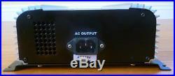 Solar Grid-tie Inverter, 1KW(1,000Watts), 120VAC, 60Hz, to 60V DC input
