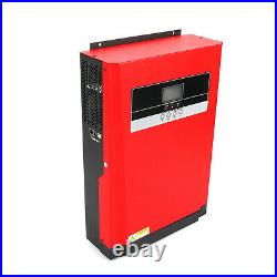 Solar Inverter 3000W 4KV 80A MPPT Solar Charger Pure Sine Wave Hybrid Inverter