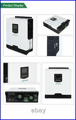 Solar Inverter 50Hz/60Hz Hybrid Pure Sine Wave PWM Battery Charger inversor Kit