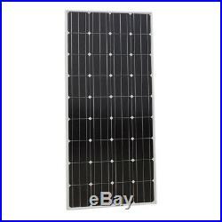 Solar Panel Kit 2340W Grid Tie Solar System 12Pcs 195W Solar Panel 2KW Inverter
