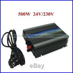 Solar Power Pure Sine Wave Inverter 12/24V to 110/220V for Solar Panel Systems