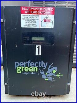 Solar energy string inverter, 4.4kW (4400 W) - perfectly green PGC 4000