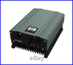 Solar grid tie inverter IP65 1200W isolating transform DC56-220v AC110V LCD play